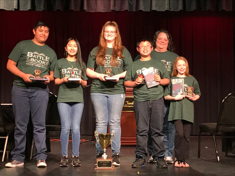 CWMS Battle of the Books Team Takes 1st Place in County, 2nd Place in Region 7 Thumbnail Image