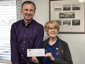 Donation from Middletown Women of the Moose