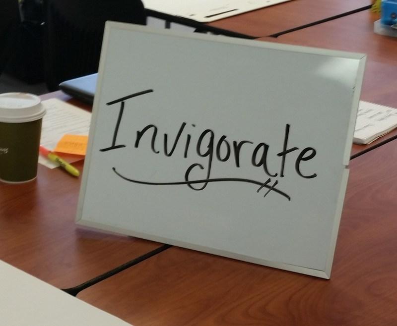 Invigorate message board
