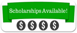 photo of money signs with the word Scholarships