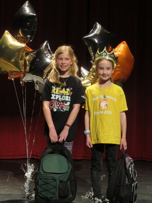 Winners were crowned in the Battle of the Books.