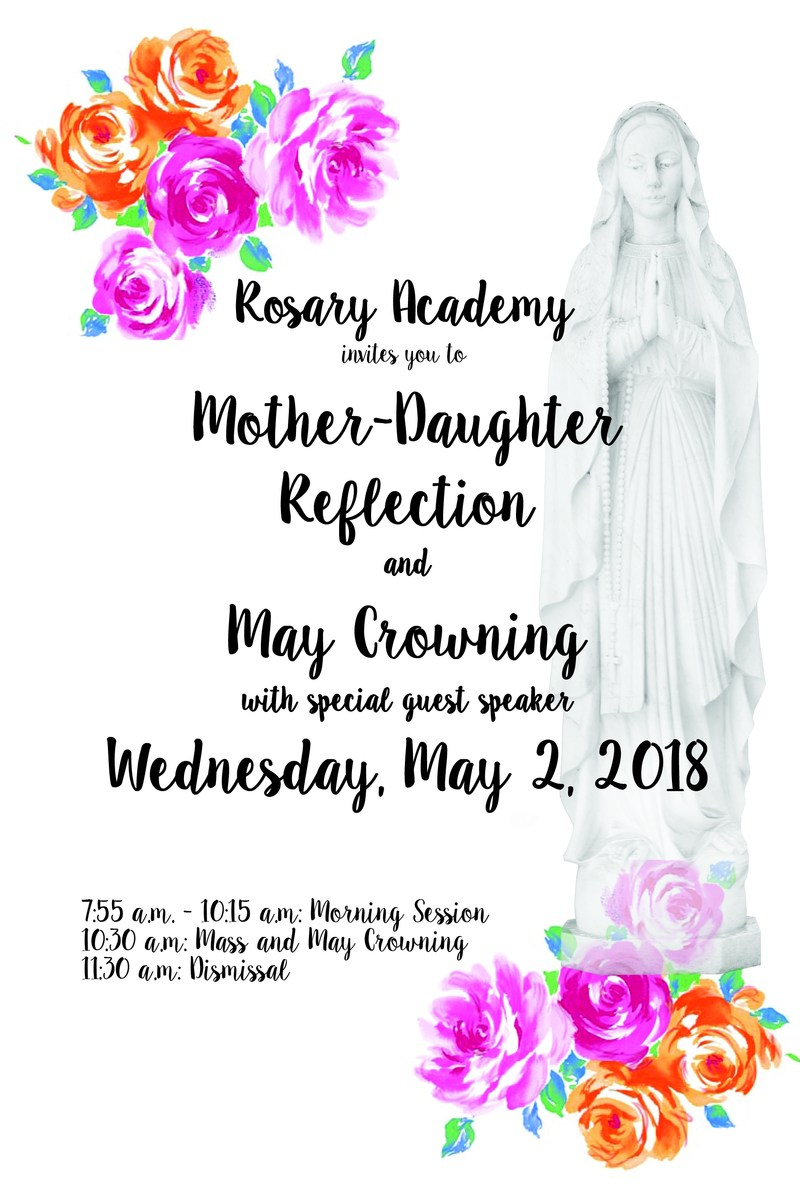 Mother-Daughter Reflection & May Crowning Featured Photo