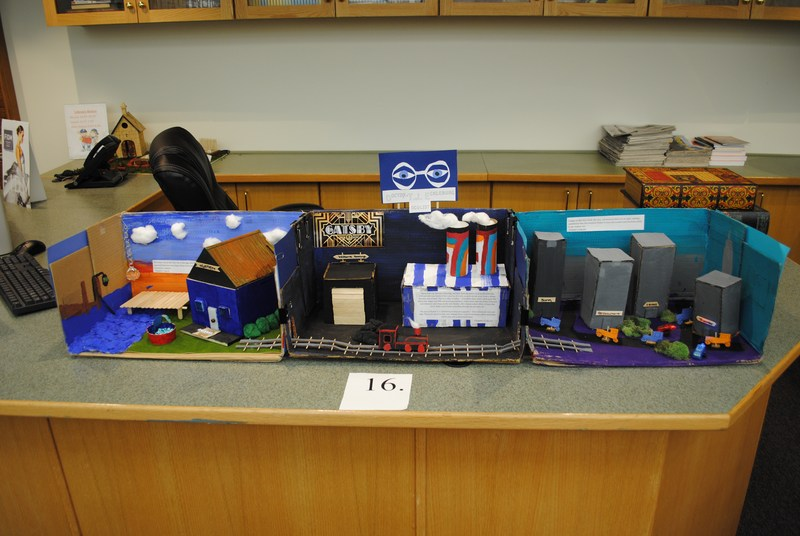 2nd Annual AGBU MHS English Diorama Project Featured Photo