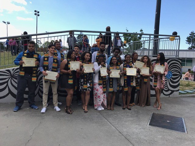 2017 Albany High School Black Student Union Graduation