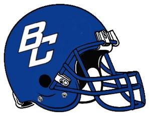 BC Football Helmet