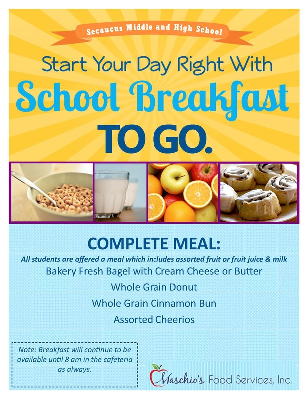School Breakfast To Go Thumbnail Image