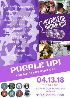 purple up flyer