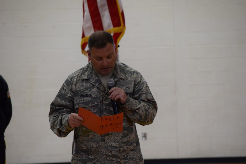 Vermont Air National Guard member thanks St. Lawrence Central School Thumbnail Image