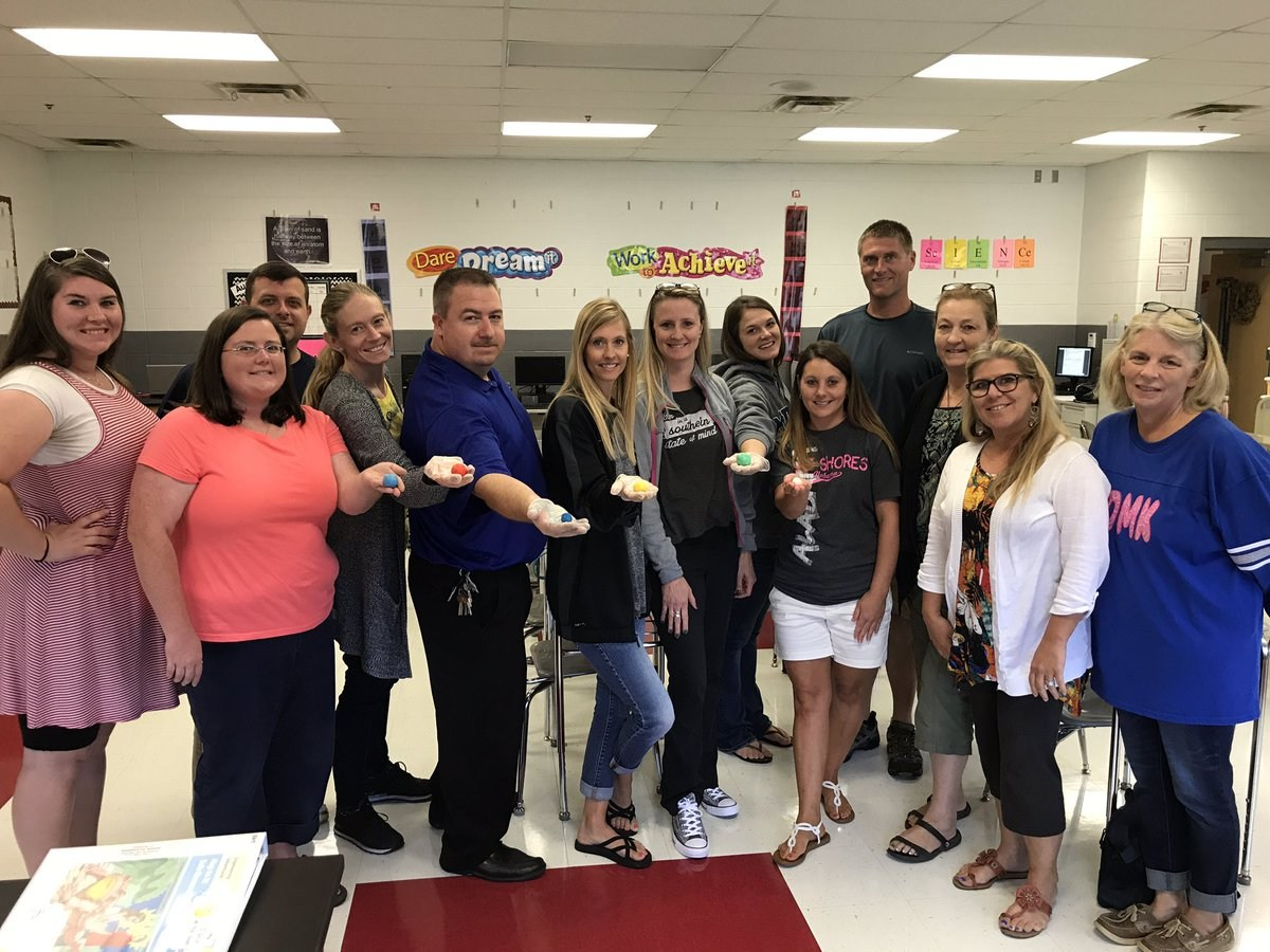 Science teachers at Summer PLC