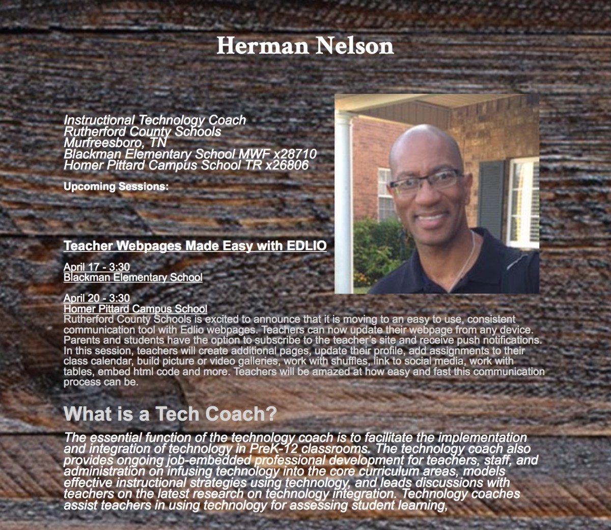Tech Coach Website link