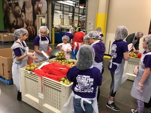 Fifth Graders at Oregon Food Bank