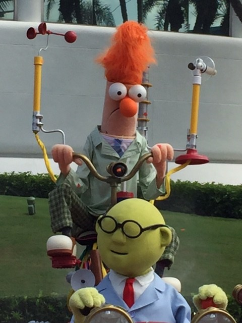 Beeker and Bunsen Honeydew from the Muppets