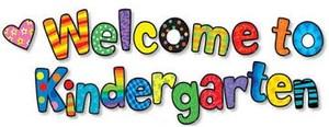 Welcome to Kindergarten Image
