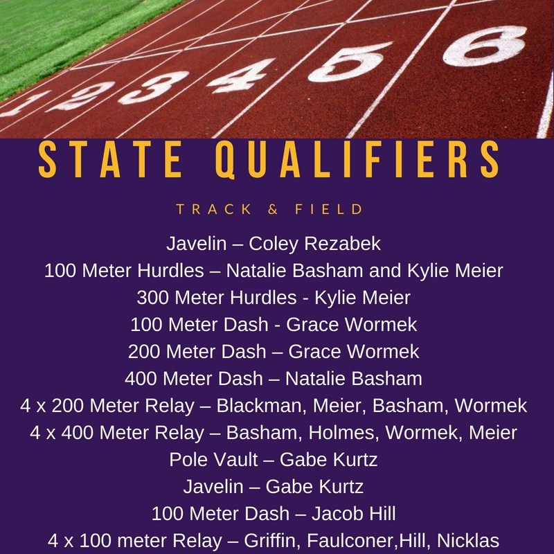 Track & Field State Qualifiers Featured Photo