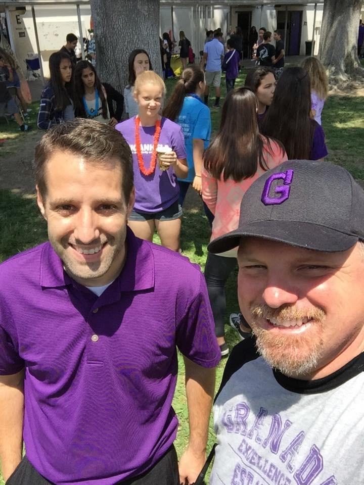 Principal Mayernik and Assistant Principal Muetzel