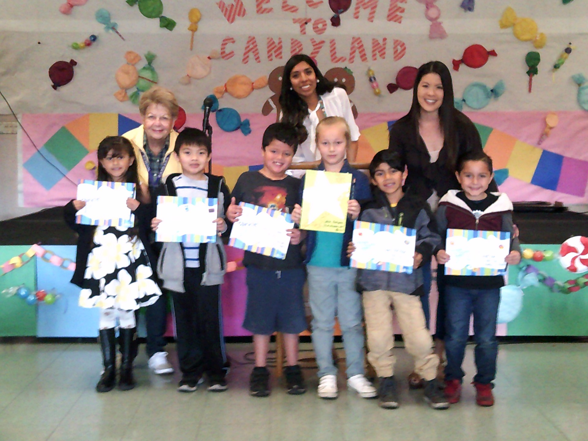 First Grade December Honorees