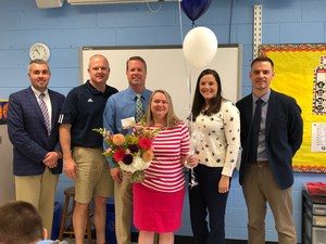 Teacher of the Year Patricia Combs