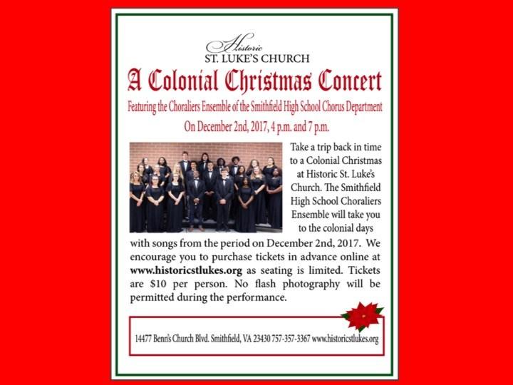 SHS Christmas Choral Concert