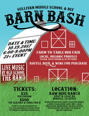 Barnyard Bash Flyer