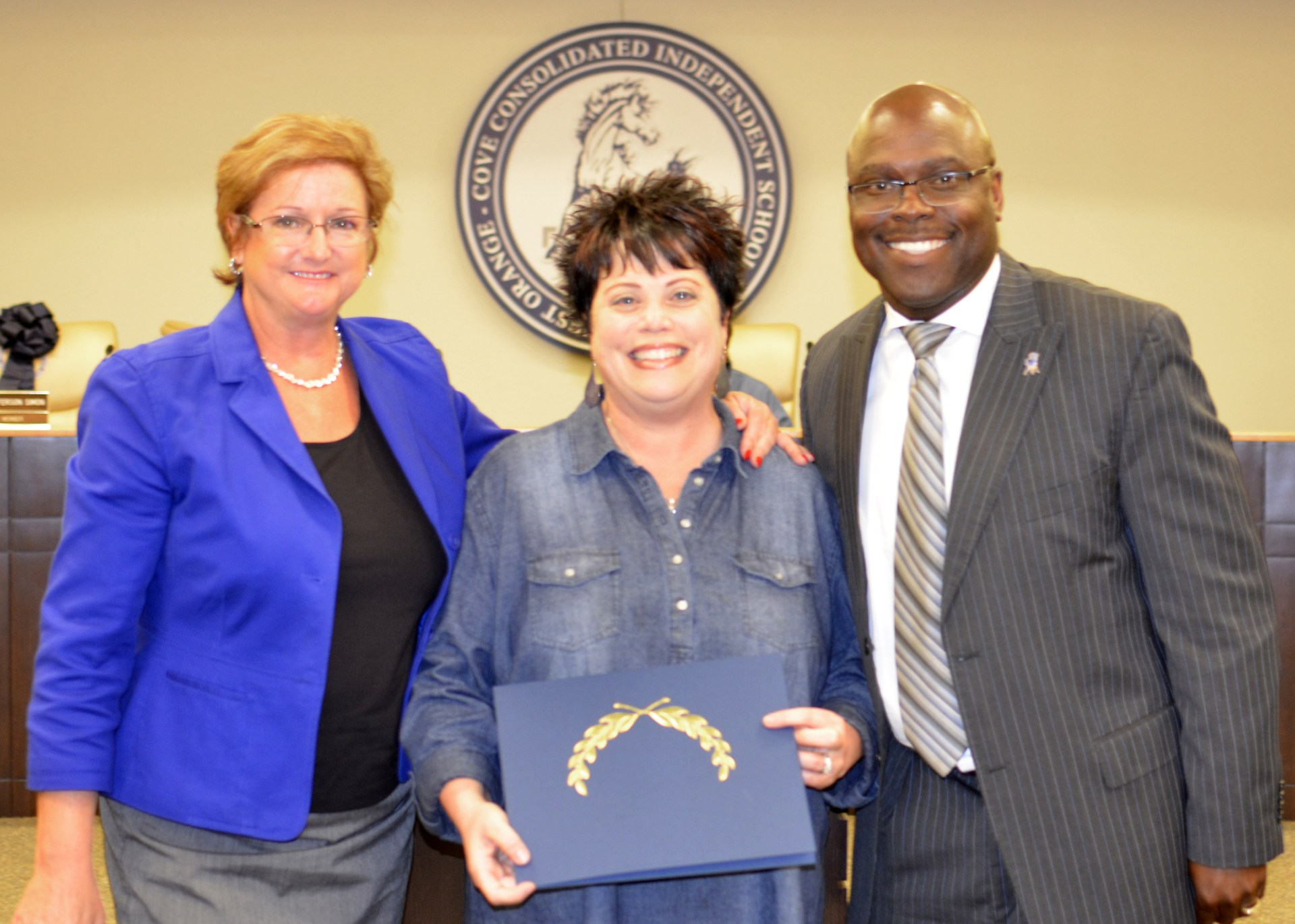 Beth Brown is recognized as Teacher of the Month