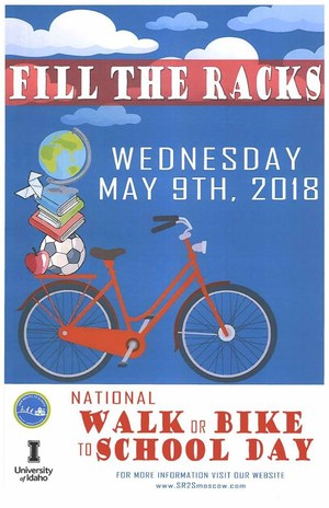 Safe Routes to School-Fill the Rack-May 9th