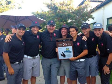PVHS Boys' Golf Team