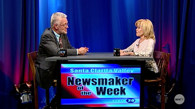 SCVTV Newsmaker of the Week Vicki Engbrecht and host Leon Worden