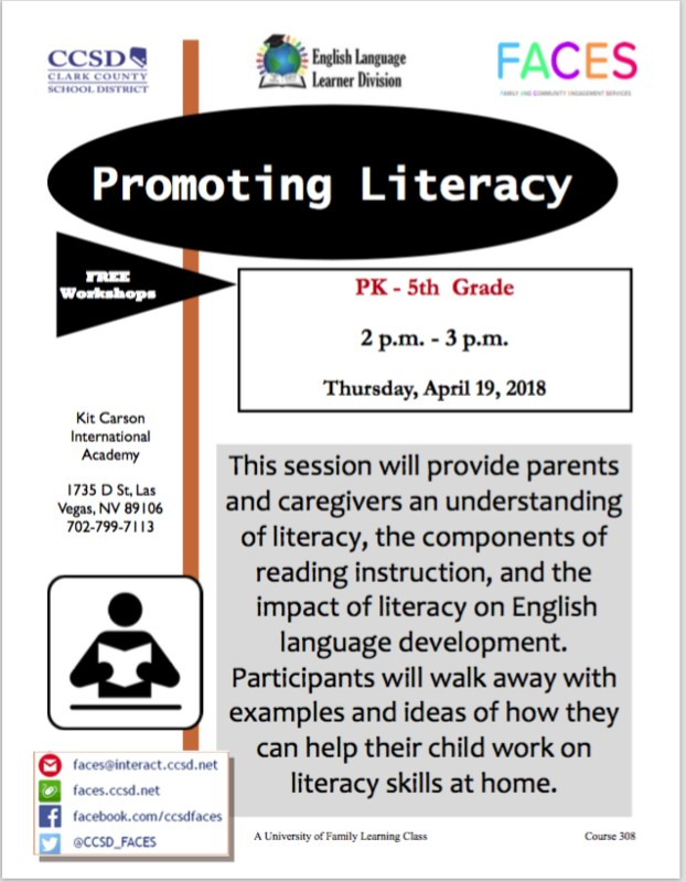 Promoting Literacy Thumbnail Image
