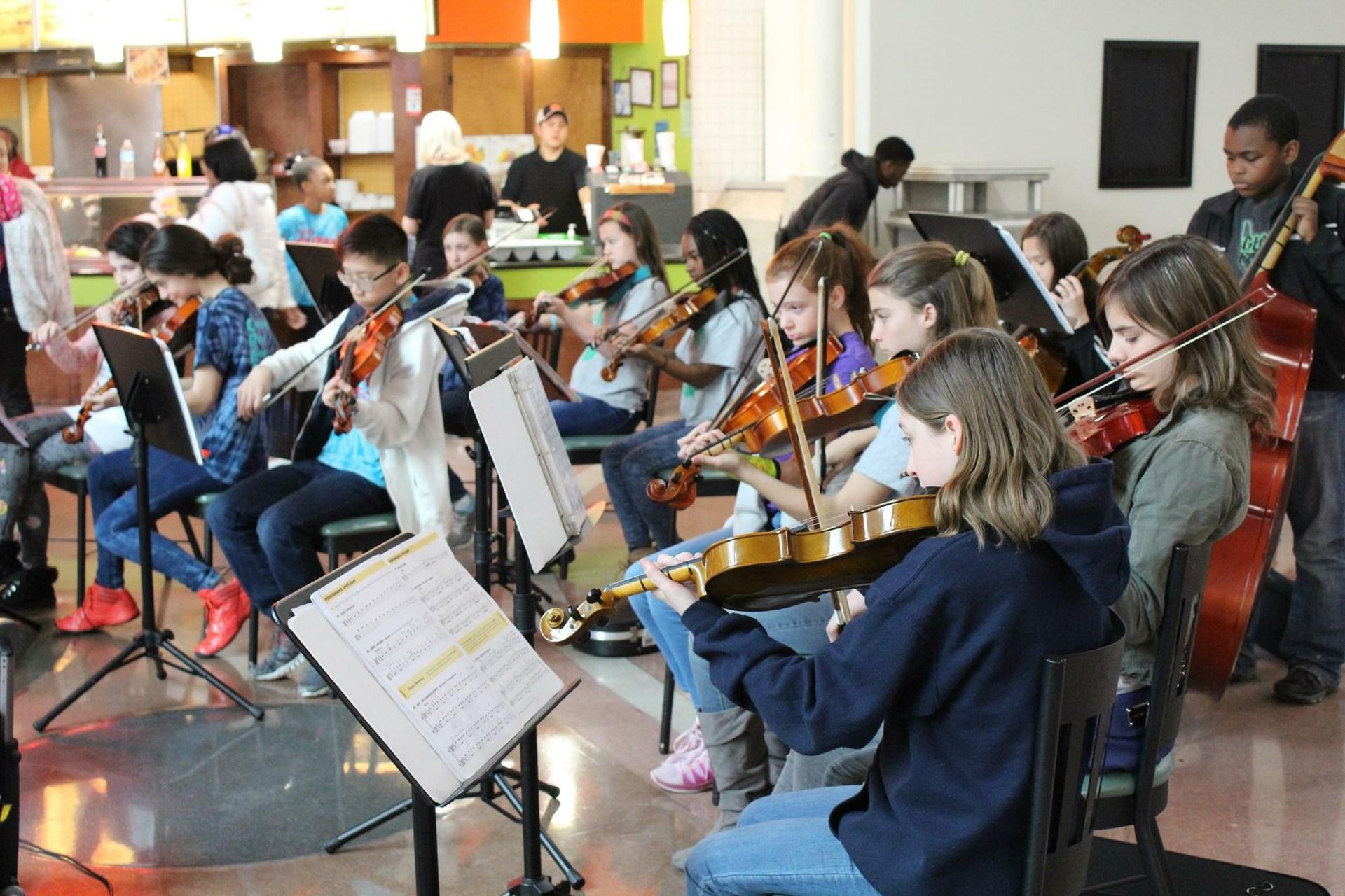 The GLOBE Academy Orchestra