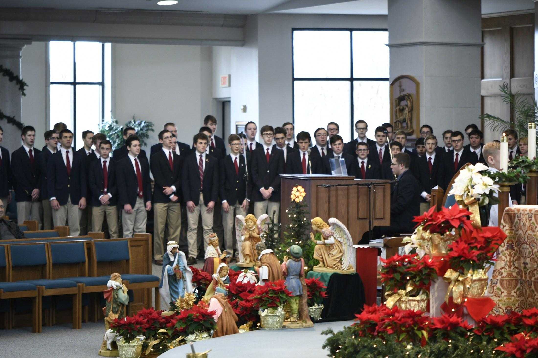 Varsity Singers at St. Stephens