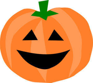 Pumpkin Smiley Face Clip Art 7412637930.png