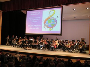 TKHS bands performed the Young People's Concerts for elementary students.