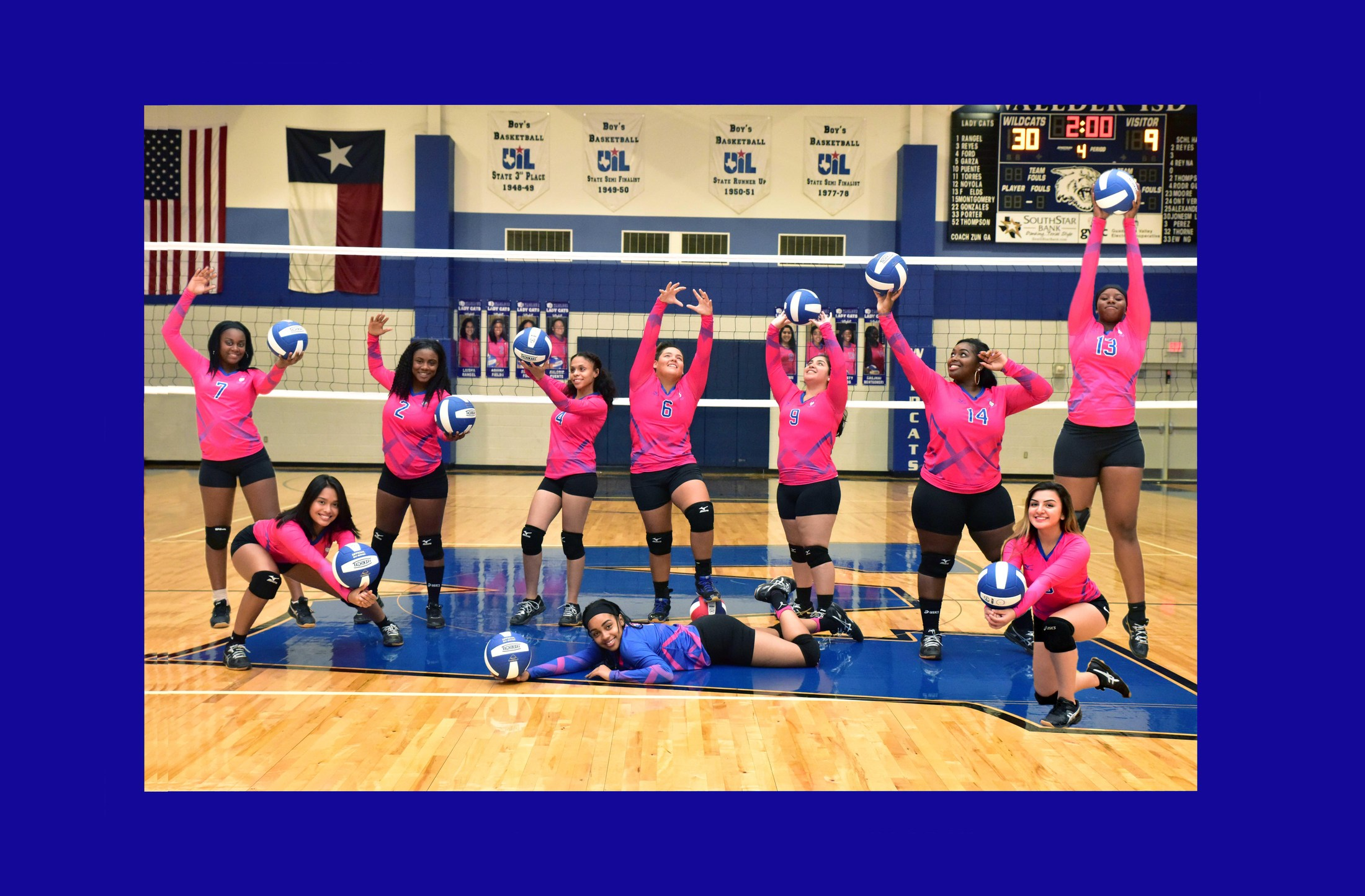 Varsity Volleyball 2017 - 2018