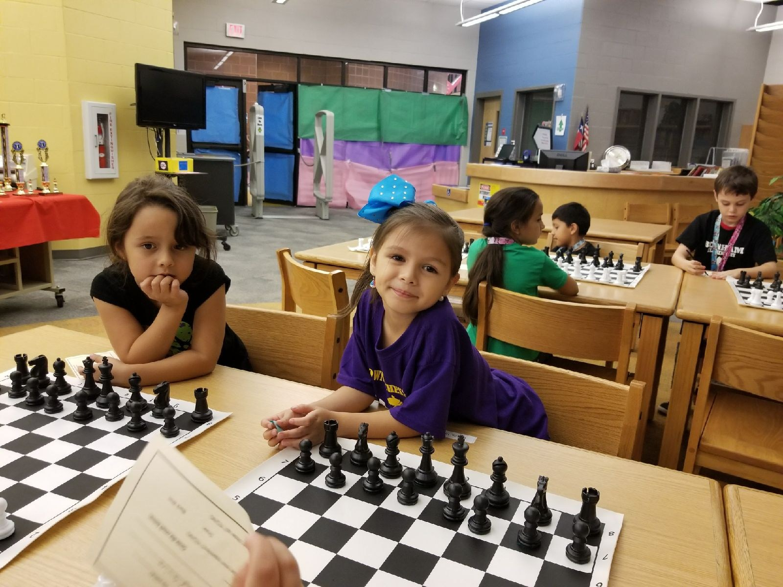 Alana Cisneros ~ 1st Grade Chess Team member