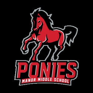 Manor Middle School Pony logo=