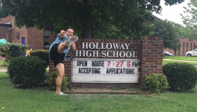 Excited to be at HHS!