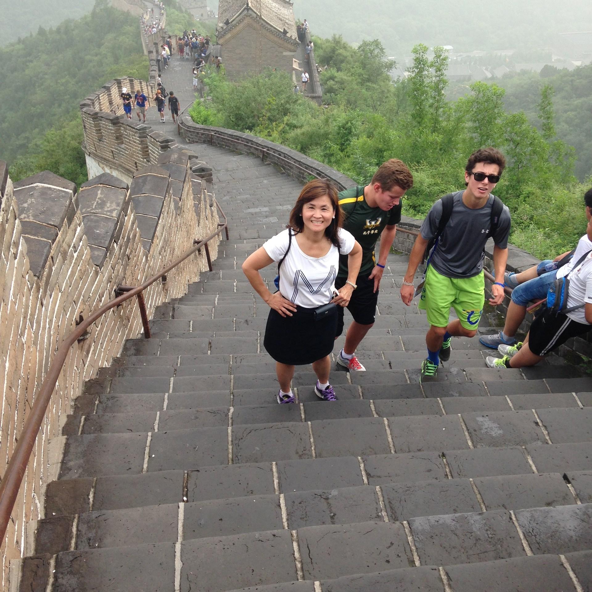 2014 Chinese Bridge Great Wall
