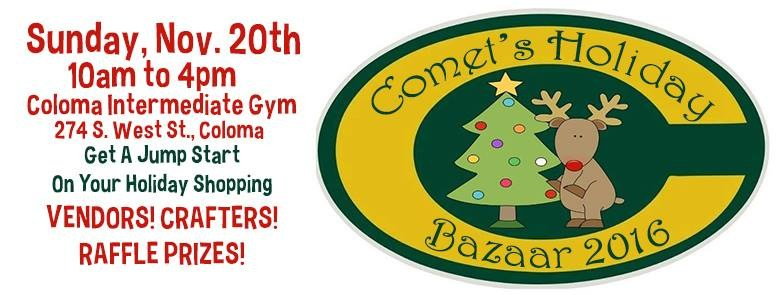 Comets Holiday Bazaar Logo