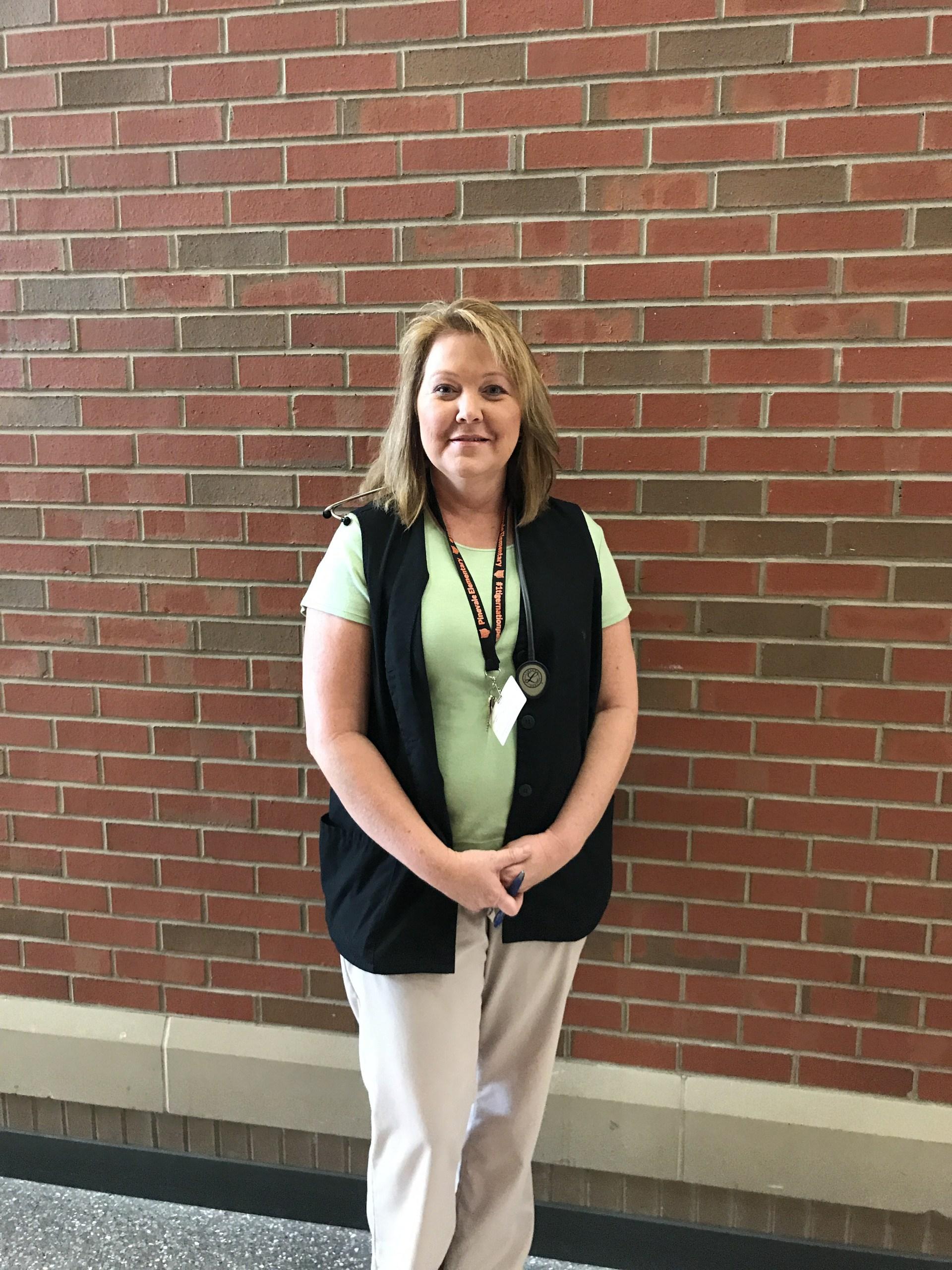 Mrs. Jennifer Garrett, Registered Nurse and School Nurse
