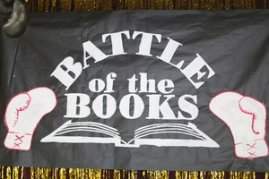 Battle of the Books sign