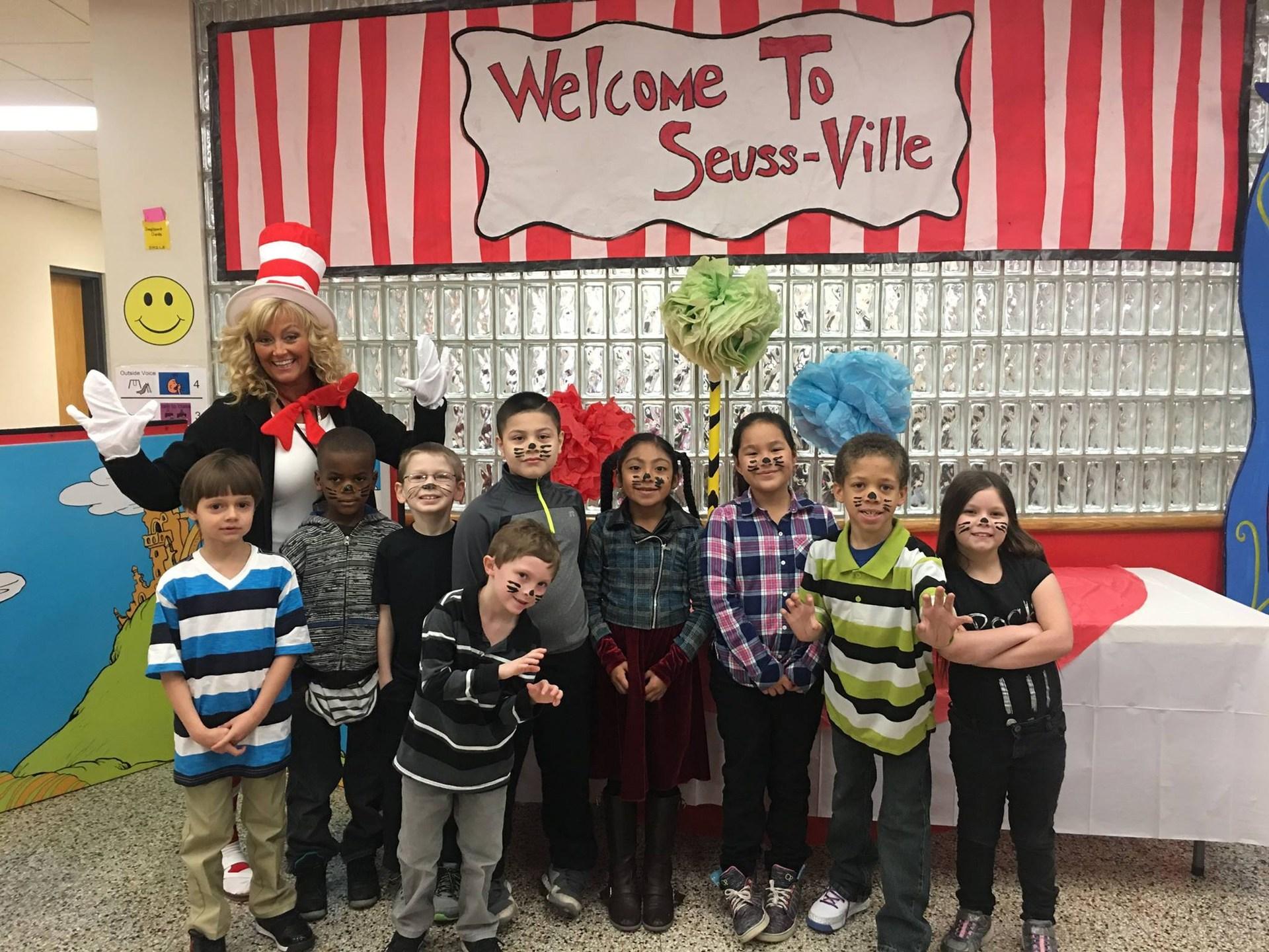 Seuss-Ville at Tenth Street School
