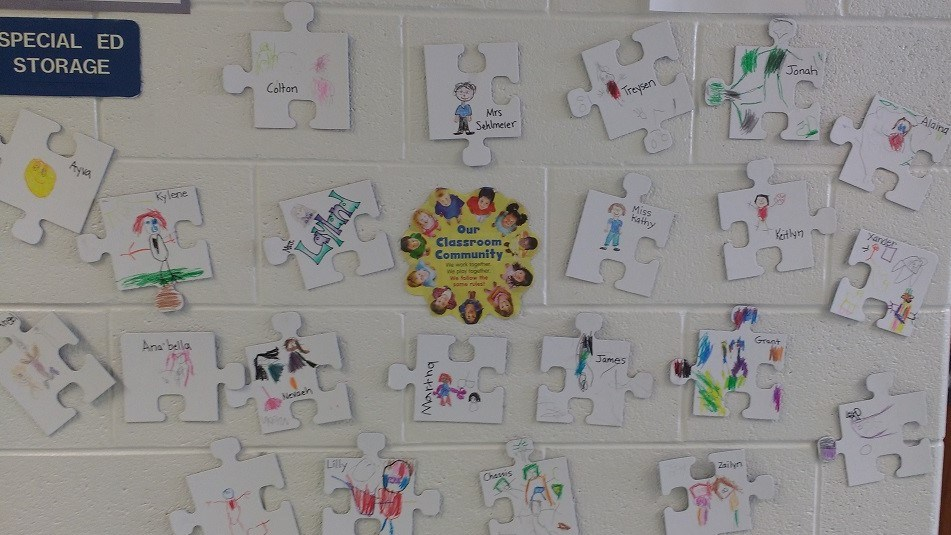 Student work on display