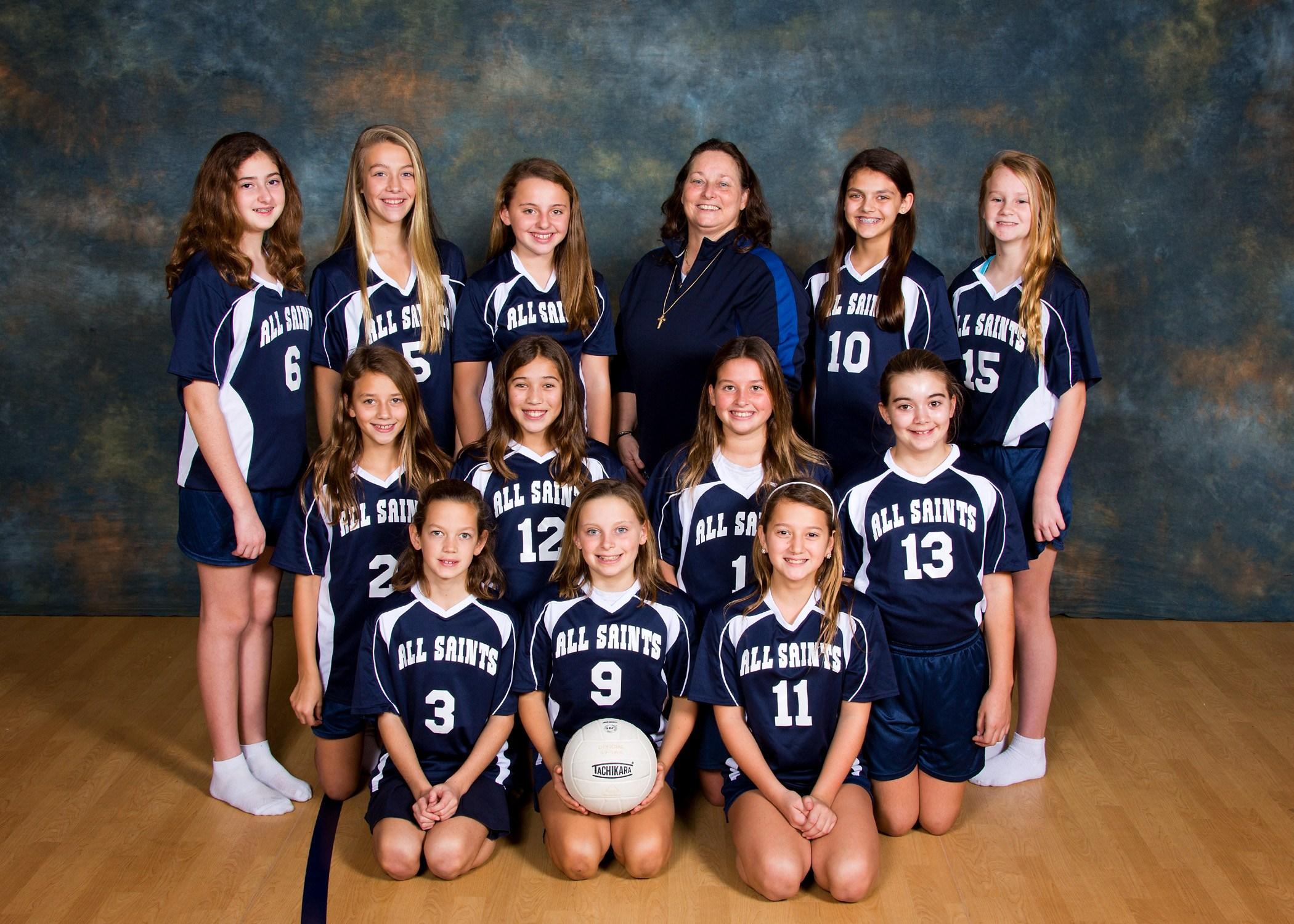 Girls Jv Volleyball Volleyball All Saints Catholic School