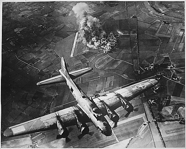B-17 over Germany