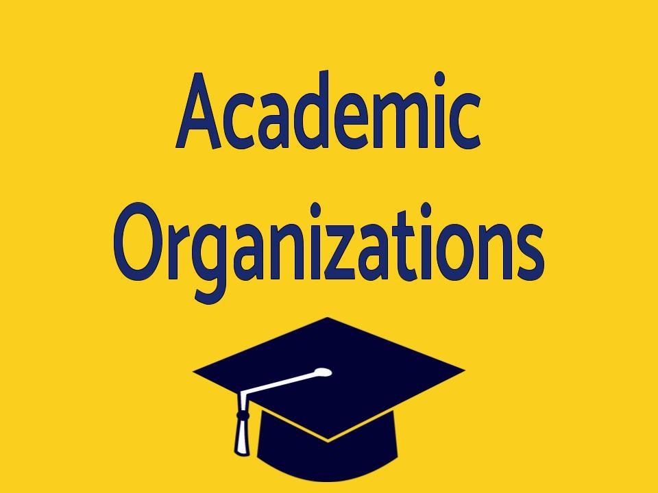 Academic Organizations