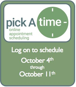 Pick A Time Logo
