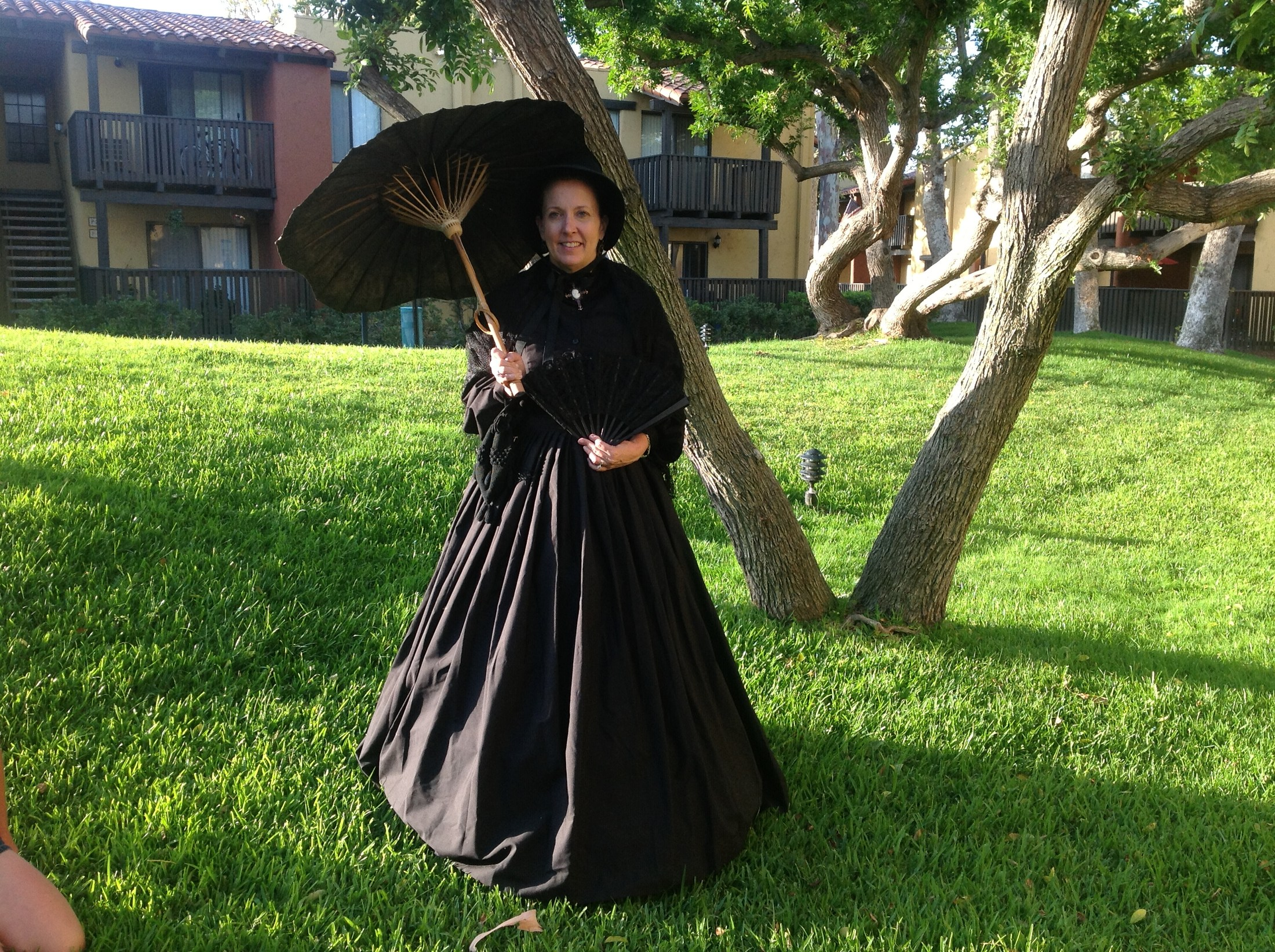 Mrs. Schippert Civil War Reenactment Costume