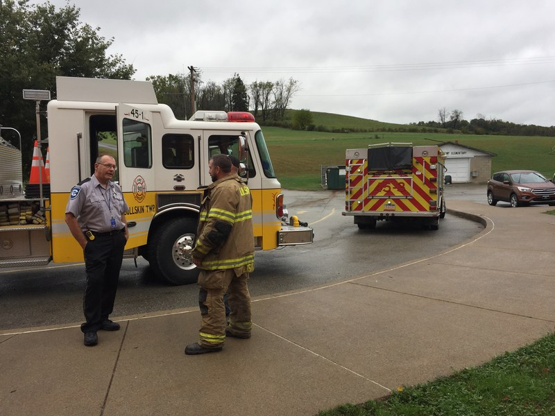 Bullskin Twp. Fire Department Visits our School Featured Photo