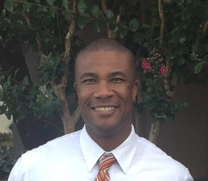 Demond Garth, Principal of Cedar Ridge Middle School