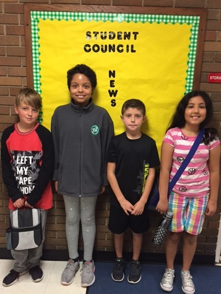 Northwest School Student Council Officers Thumbnail Image